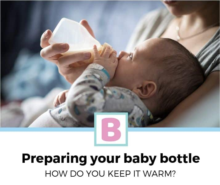 how to keep baby bottle warm