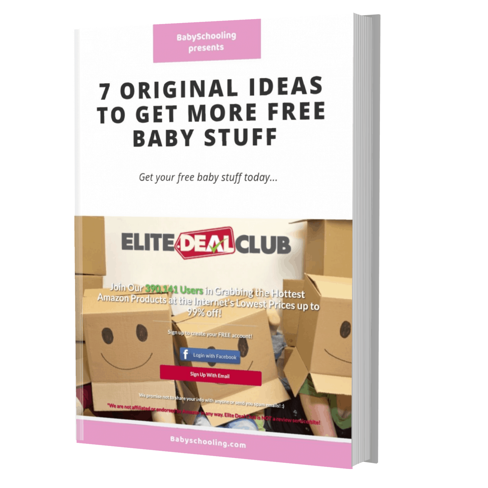 original ideas to get free baby stuff ebook