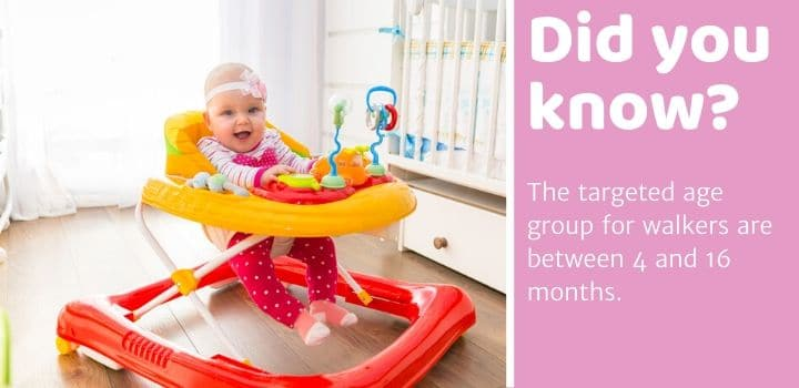 Did you know Baby Walkers for Short Babies